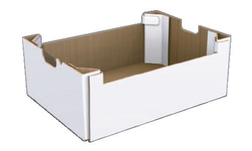 Teco - Bandeja open top con ángulos reforzados