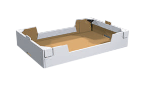 Teco - Tray with short and long side doublewall